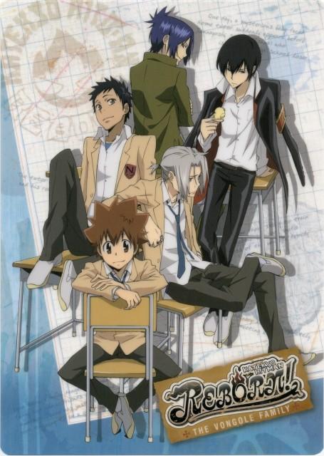 Akira Amano, Artland, Katekyo Hitman Reborn!, Takeshi Yamamoto, Mukuro Rokudo
