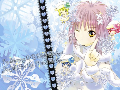 Peach-Pit, Satelight, Shugo Chara, Su, Amu Hinamori Wallpaper