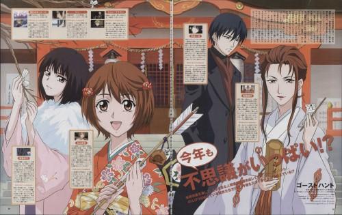 J.C. Staff, Ghost Hunt, Kazuya Shibuya, Mai Taniyama, Masako Hara