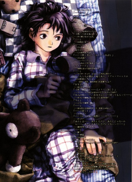 Yoshitoshi Abe, Serial Experiments Lain, An Omnipresence in Wired, Lain Iwakura