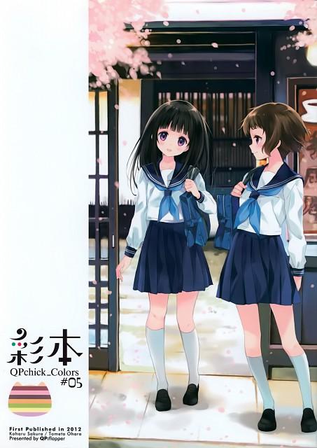 Koharu Sakura, Kyoto Animation, QP:flapper, Hyouka, Qpchick Colors #05