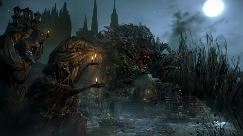 FromSoftware, Sony Computer Entertainment Inc, Bloodborne, Cleric Beast, Game CG