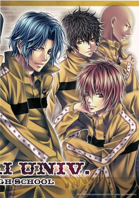 Aiki Ren, Prince of Tennis, Seiichi Yukimura, Akaya Kirihara, Bunta Marui