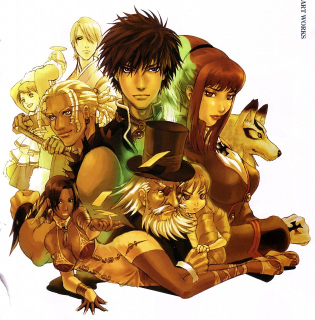 Sacnoth, Shadow Hearts, Kurando Inugami, Lucia (Shadow Hearts), Cornelia (Shadow Hearts)