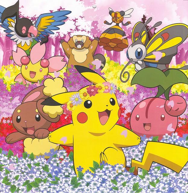 Nintendo, OLM Digital Inc, Pokémon, Buneary, Cherubi