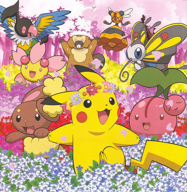 Nintendo, OLM Digital Inc, Pokémon, Cherubi, Bibarel