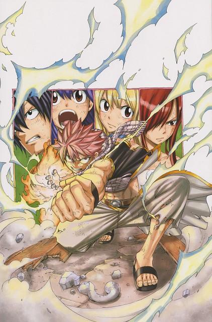 Hiro Mashima, Fairy Tail, Fairy Tail Illustrations: Fantasia, Gray Fullbuster, Natsu Dragneel