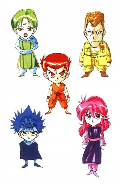 Yoshihiro Togashi, Yuu Yuu Hakusho, Kazuma Kuwabara, Yusuke Urameshi, Kurama