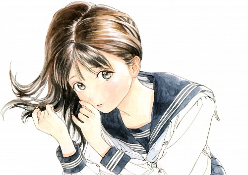 Hiro (Mangaka), Akebi-chan no Sailor Fuku, Akebi Komichi, Chapter Cover