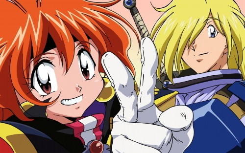 Slayers, Gourry Gabriev, Lina Inverse