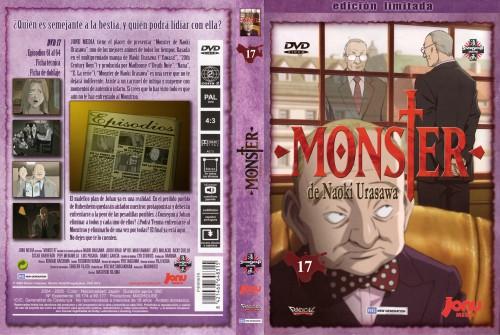 Naoki Urasawa, Madhouse, Monster, Akanbou, DVD Cover