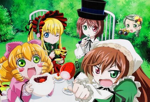 Peach-Pit, Rozen Maiden, Kanaria, Hinaichigo, Souseiseki