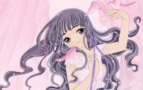 CLAMP, Madhouse, Cardcaptor Sakura, Tomoyo Daidouji, Vector Art Wallpaper
