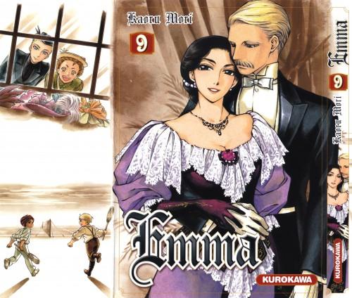 Kaoru Mori, Victorian Romance Emma, Manga Cover