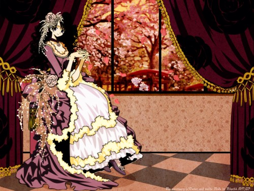 CLAMP, Production I.G, xxxHOLiC, Himawari Kunogi, Vector Art Wallpaper