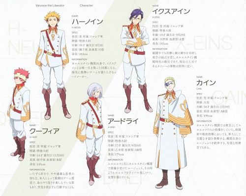 Sunrise (Studio), Kakumeiki Valvrave, X-eins, A-drei, Cain (Kakumeiki Valvrave)