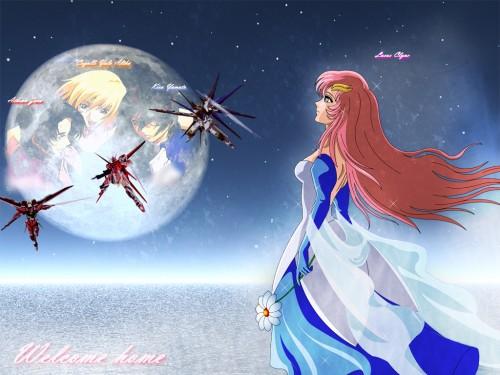 Sunrise (Studio), Mobile Suit Gundam SEED, Kira Yamato, Athrun Zala, Lacus Clyne Wallpaper