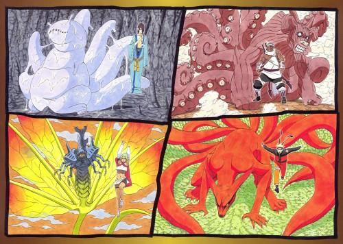 Masashi Kishimoto, Naruto, NARUTO Illustrations, Utakata, Naruto Uzumaki