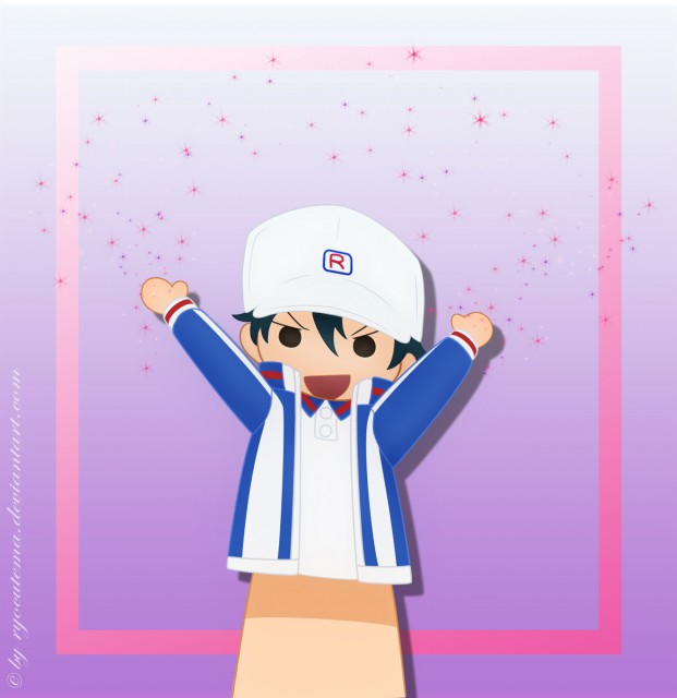 J.C. Staff, Prince of Tennis, Ryoma Echizen, Vector Art