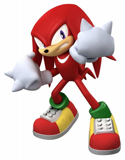 Sega, Sonic Series, Knuckles the Echidna, Official Digital Art