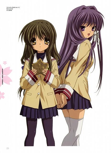 Kyoto Animation, Clannad, Fuko Ibuki, Kyou Fujibayashi