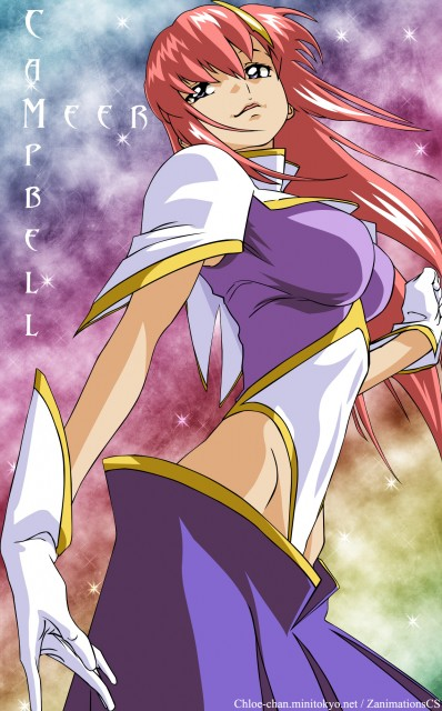 Sunrise (Studio), Mobile Suit Gundam SEED Destiny, Meer Campbell, Vector Art