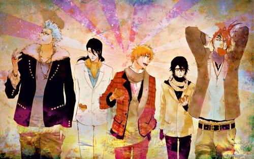 Kubo Tite, Studio Pierrot, Bleach, Grimmjow Jeagerjaques, Renji Abarai Wallpaper
