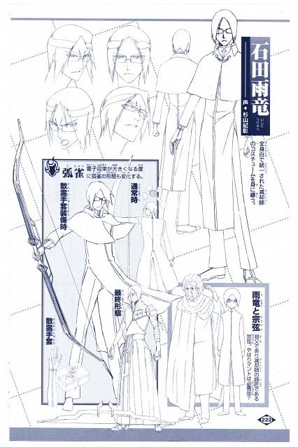 Studio Pierrot, Bleach, Uryuu Ishida, Character Sheet