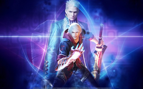 Capcom, Madhouse, Devil May Cry, Vergil, Nero Wallpaper
