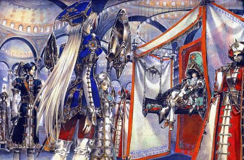 Shibamoto Thores, Gonzo, Trinity Blood, Fabrica Theologiae, Suleyman