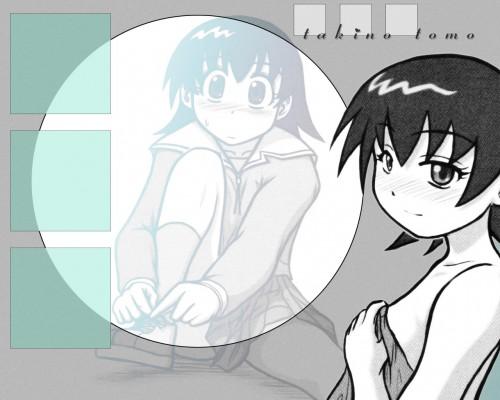 Kiyohiko Azuma, J.C. Staff, Azumanga Daioh, Tomo Takino, Doujinshi Wallpaper