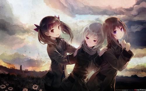Mel Kishida, A-1 Pictures, Sora no Woto, Kureha Suminoya, Kanata Sorami Wallpaper