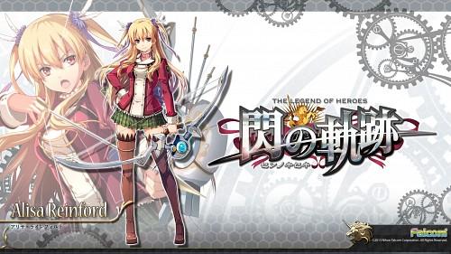 Falcom, The Legend of Heroes: Zero no Kiseki, Alisa Reinford, Official Wallpaper