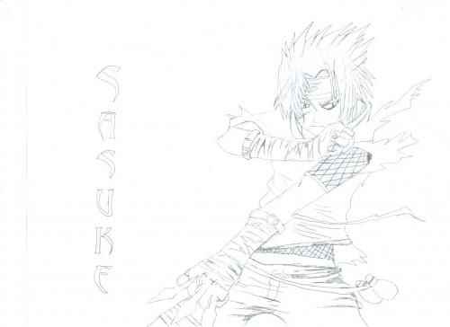 Studio Pierrot, Naruto, Sasuke Uchiha, Member Art