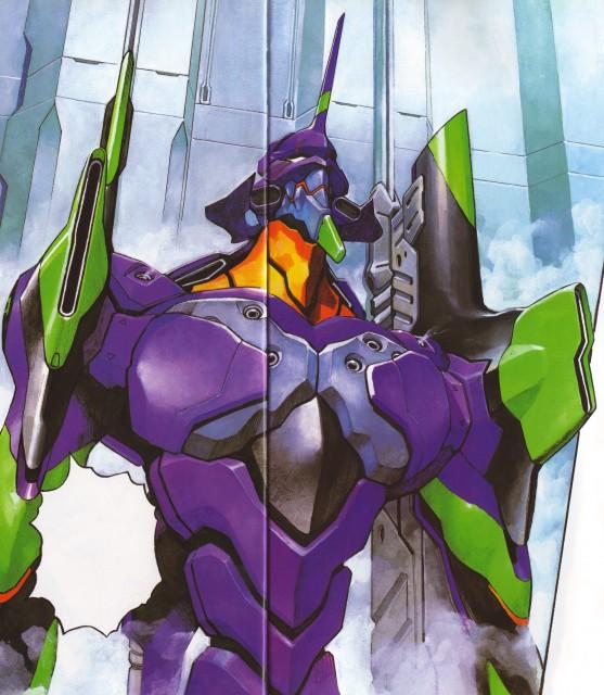 Yoshiyuki Sadamoto, Neon Genesis Evangelion, Der Mond, Unit-01