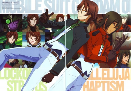 Mobile Suit Gundam 00, Allelujah Haptism, Lockon Stratos