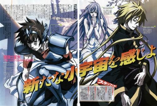 Shiori Teshirogi, Saint Seiya: The Lost Canvas, Alone, Pegasus Tenma, Sasha
