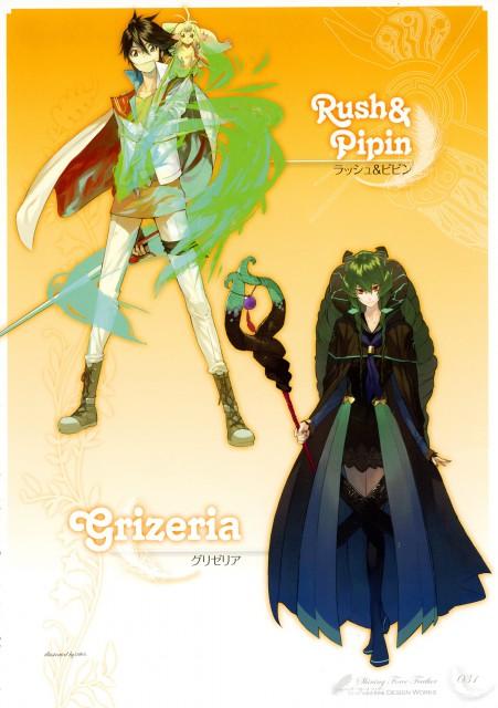 pako, Shining Force Feather, Rush (Shining Force), Grizeria