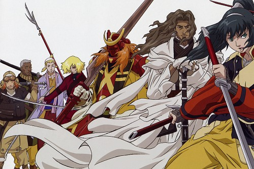 Gonzo, Samurai 7, Heihachi Hayashida, Okamoto Katsushiro, Kikuchiyo