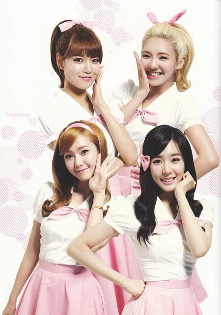 Girls Generation, Tiffany, Jessica, HyoYeon, Sooyoung