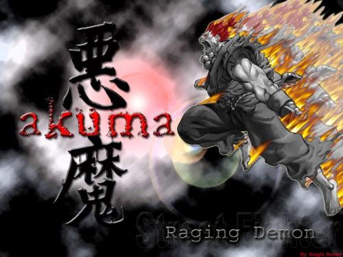 Capcom, Street Fighter, Akuma (Street Fighter) Wallpaper