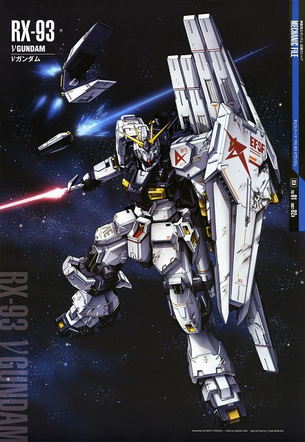 Mobile Suit Gundam - Universal Century, Mobile Suit Gundam Char's Counterattack, Gundam Perfect Files