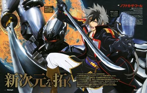 Yone Kazuki, Shouji Kawamori, Satelight, Nobunaga the Fool, Nobunaga Oda (Nobunaga the Fool)