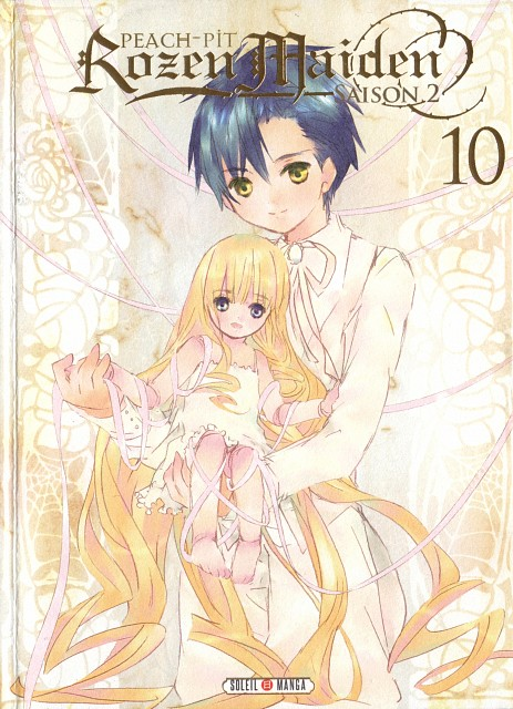 Peach-Pit, Rozen Maiden, Shinku, Jun Sakurada, Manga Cover