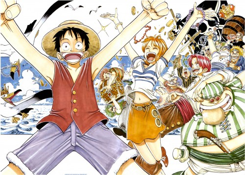 Eiichiro Oda, One Piece, Color Walk 1, Nami, Benn Beckman