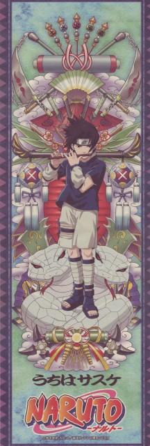 Studio Pierrot, Naruto, Sasuke Uchiha, Stick Poster