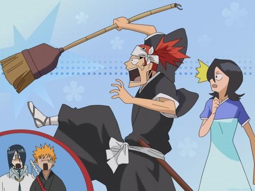 Kubo Tite, Studio Pierrot, Bleach, Uryuu Ishida, Rukia Kuchiki Wallpaper