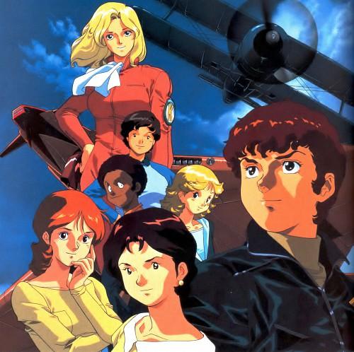 Hiroyuki Kitazume, Sunrise (Studio), Mobile Suit Zeta Gundam, Beltorchika Irma, Amuro Ray