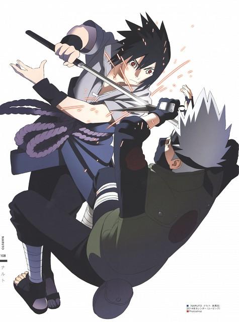 Naruto, The Art of Tetsuya Nishio: Full Spectrum, Sasuke Uchiha, Kakashi Hatake, Sasuke Cursed Seal