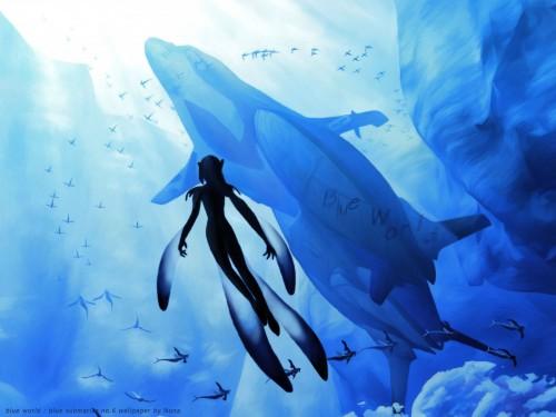 Range Murata, Blue Submarine No. 6, Mutio Wallpaper